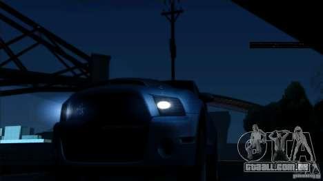 RAGE ENB para GTA San Andreas segunda tela