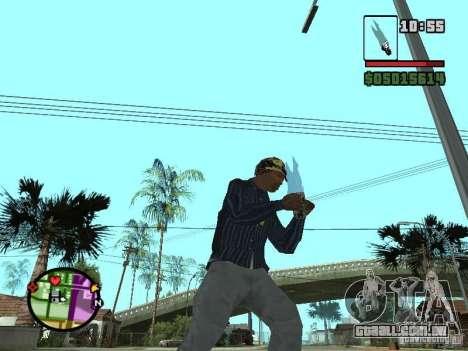 G: para GTA San Andreas terceira tela