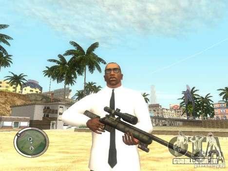 Sniper - Forest Camouflage para GTA San Andreas segunda tela