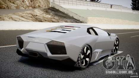 Lamborghini Reventon v2 para GTA 4 traseira esquerda vista