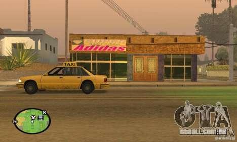 Loja ADIDAS para GTA San Andreas segunda tela