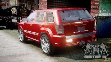Dodge Durango [Beta] para GTA 4 traseira esquerda vista