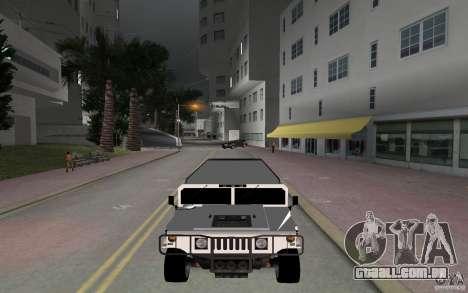 HUMMER H1 limousine para GTA Vice City vista direita