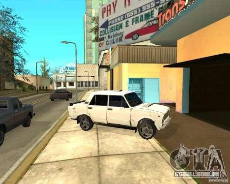Kopeyka (corrigido) para GTA San Andreas vista interior