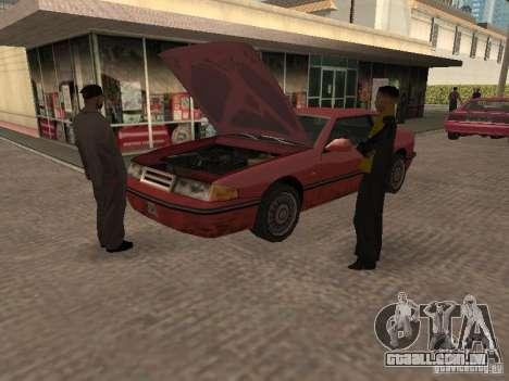 Espaço animado v 1.0 para GTA San Andreas terceira tela