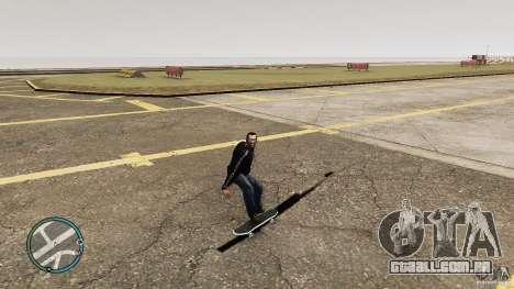 Skate # 1 para GTA 4 esquerda vista
