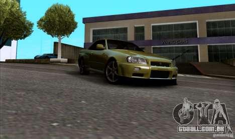 ENBseries by HunterBoobs v1.1 para GTA San Andreas