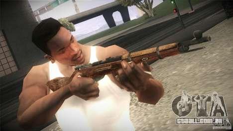 Weapon Pack by GVC Team para GTA San Andreas sétima tela