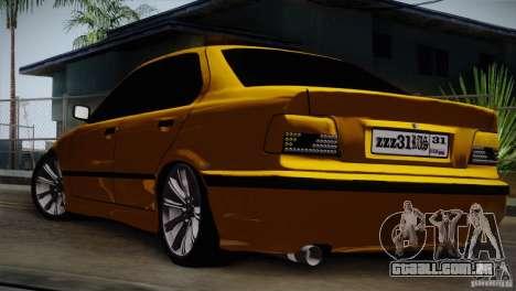 BMW M3 Z366 para GTA San Andreas vista direita