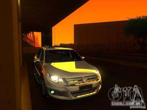 ENBSeries by Fallen para GTA San Andreas por diante tela