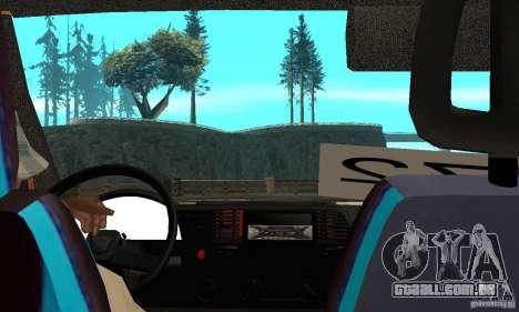 Gazela kulnev obezbašennaâ para GTA San Andreas vista direita