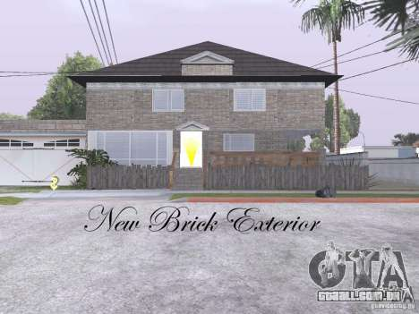 CJ Total House Remodel V 2.0 para GTA San Andreas quinto tela