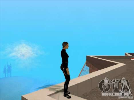 Matrix Skin Pack para GTA San Andreas por diante tela