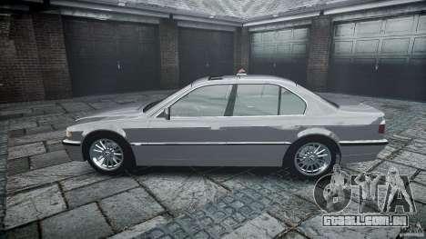 BMW 740i (E38) style 32 para GTA 4 vista lateral