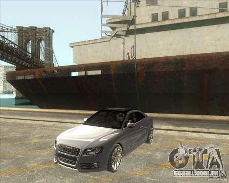 Audi S5 V8 custom 2008 para GTA San Andreas