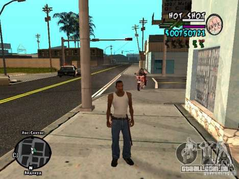 HUD by Hot Shot v.2.2 for SAMP para GTA San Andreas segunda tela