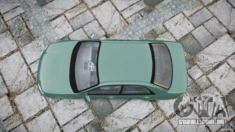 Subaru Impreza v2 para GTA 4 vista direita