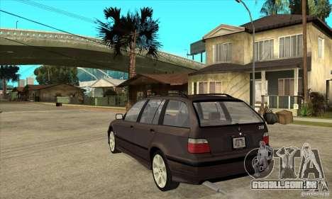 BMW 318i Touring para GTA San Andreas vista direita
