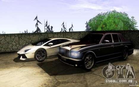 Bentley Arnage R 2005 para GTA San Andreas vista superior