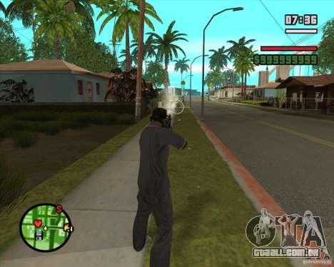 GTA IV Target v.1.0 para GTA San Andreas por diante tela