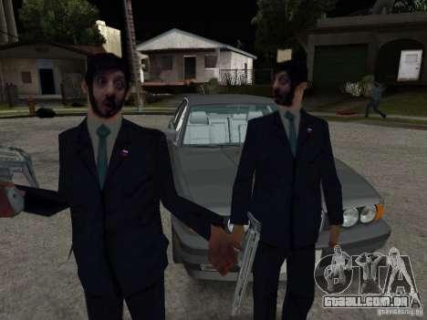 Abutre-barbudo ou Galustyan para GTA San Andreas segunda tela