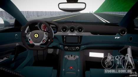 Ferrari FF 2012 para GTA 4 vista direita
