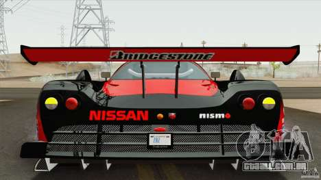 Nissan R390 GT1 1998 v1.0.1 para GTA San Andreas esquerda vista
