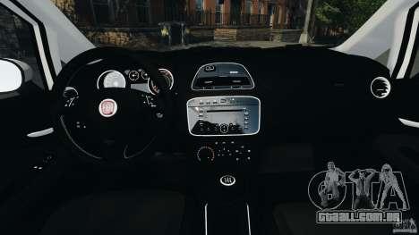 Fiat Punto Evo Sport 2012 v1.0 [RIV] para GTA 4 vista de volta