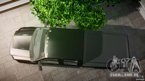 Ford F-350 Unmarked [ELS] para GTA 4 vista direita