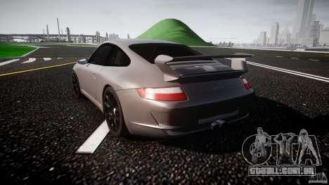 Porsche GT3 997 para GTA 4 vista direita