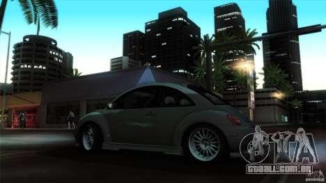 Volkswagen Beetle RSi Tuned para GTA San Andreas vista interior