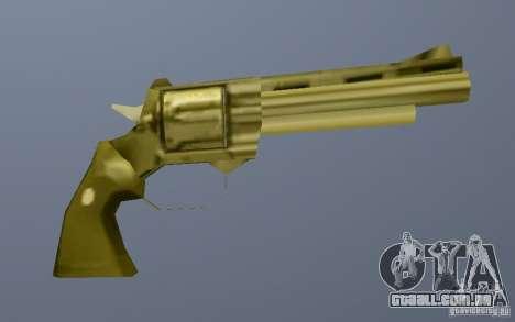 Gold Python para GTA Vice City por diante tela