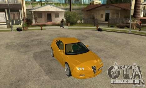 Alfa Romeo GTV para GTA San Andreas vista traseira