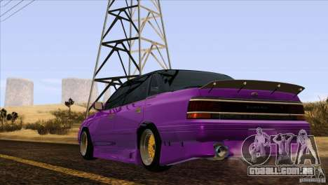 Subaru Legacy Drift Union para vista lateral GTA San Andreas