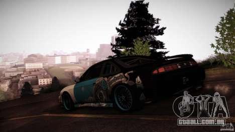 Nissan Silvia S14 NoNgrata para GTA San Andreas vista interior