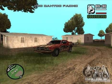 FlatOut bullet para GTA San Andreas esquerda vista