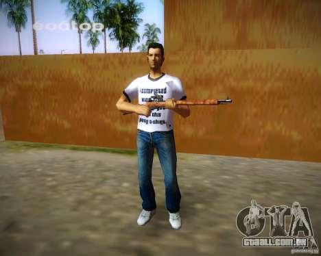 Mosin-Nagant para GTA Vice City sexta tela