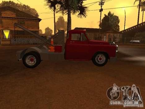 Dodge Towtruck para GTA San Andreas esquerda vista