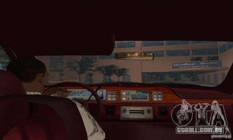 Chevrolet Caprice 1991 para GTA San Andreas traseira esquerda vista