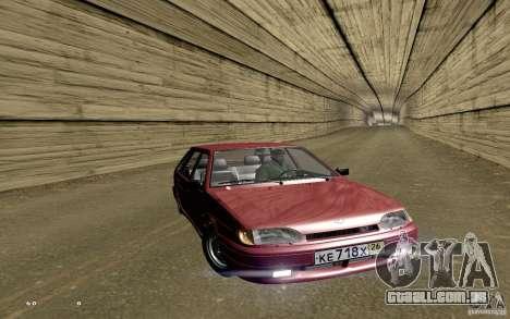 ВАЗ 2114 qualidade para GTA San Andreas interior
