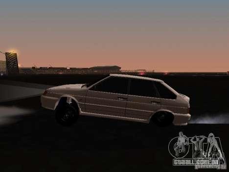 ВАЗ 2114 Bully para GTA San Andreas esquerda vista