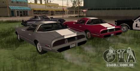 Eon Phoenix para GTA San Andreas esquerda vista