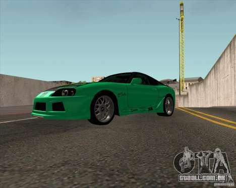 Toyota Supra ZIP style para GTA San Andreas vista direita