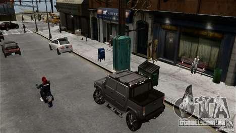 Hummer H2 SUT para GTA 4 esquerda vista