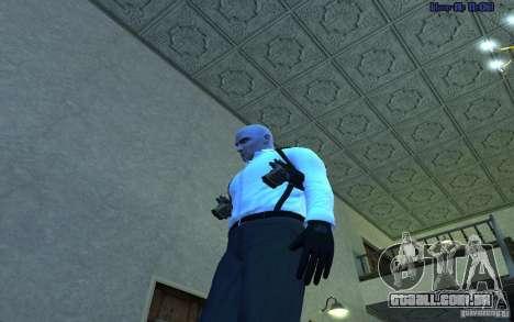 Agent 47 para GTA San Andreas segunda tela