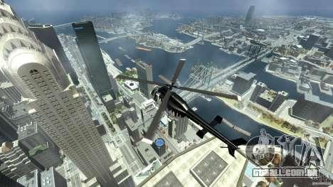 All new Tourmav para GTA 4 vista de volta