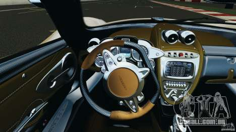 Pagani Huayra 2011 v1.0 [RIV] para GTA 4 rodas