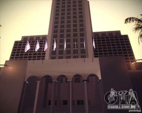 Novas texturas da prefeitura para GTA San Andreas segunda tela