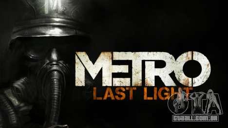 Metro Last Light AK 47 para GTA San Andreas segunda tela