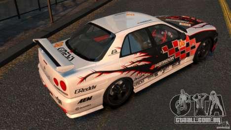 Nissan Skyline ER34 Nismo Z Tune para GTA 4 vista direita